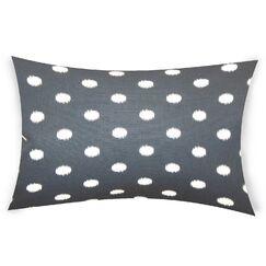 Offutt Cotton Lumbar Pillow Color: Gray