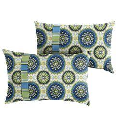 Meldrum Indoor/Outdoor Lumbar Pillow Size: 12
