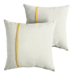 Fosdick Indoor/Outdoor Sunbrella Throw Pillow Size: 18