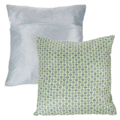 Mulford Diamond Throw Pillow Color: Green