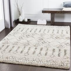 Eadie Bohemian Taupe/Khaki Area Rug Rug Size: Rectangle 5'3