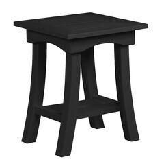 Clabaugh End Table Frame Color: Black