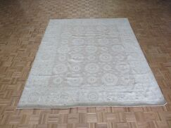 One-of-a-Kind Emerystone Oushak Hand-Knotted Brown/Blue Area Rug