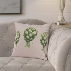 Laymon Throw Pillow Color: Pale Pink, Size: 20