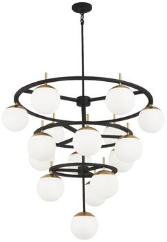Rosanne 75-Light Wagon Wheel Chandelier