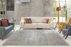 Lapoint Champagne/Cream Area Rug Rug Size: Rectangle 5'3
