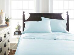Barton Sheet Set Size: Queen, Color: Aqua
