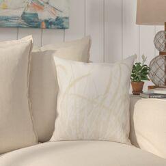 Boubacar Sea Grass Outdoor Throw Pillow Size: 20