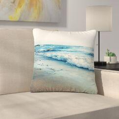 Beyond the Sea Coastal Outdoor Throw Pillow Size: 16