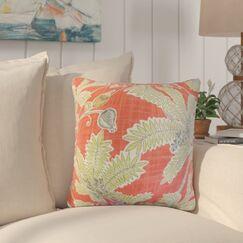 Shemena Foliage Cotton Throw Pillow