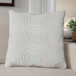 Ridgewood Throw Pillow Size: 22