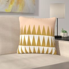 Suzanne Carter Geo Outdoor Throw Pillow Size: 18