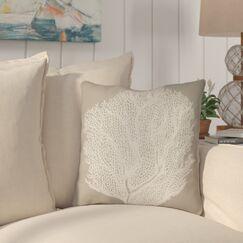Brookline Coastal II Indoor/Outdoor Throw Pillow Size: 18