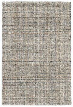 Harris Micro Hand-Hooked Wool Gray/Blue/Black Area Rug Rug Size: Rectangle 8' x 10'