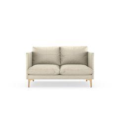 Sabina Loveseat Finish: Chrome, Upholstery: Vanilla
