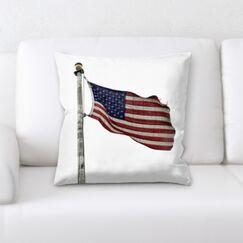 Fiorillo US Flag Throw Pillow