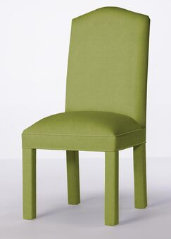 Mohegan Upholstered Dining Chair Upholstery Color: Lime