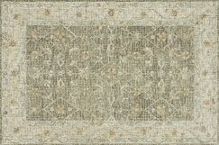 Fitzwater Hand-Hooked Wool Taupe Area Rug Rug Size: Rectangle 9'3