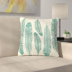 Balsam Feathers Outdoor Throw Pillow Size: 18