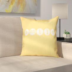 Sperber Throw Pillow Size: 20