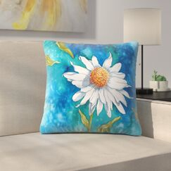 Sunshine Taylor Above It All Indoor/Outdoor Throw Pillow Size: 18