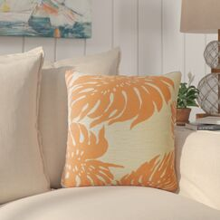 Maiah Floral Down Filled Throw Pillow Size: 20