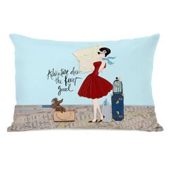 Cumby Adventure Does The Heart Good Lumbar Pillow