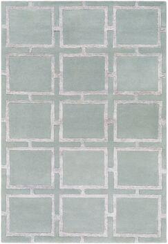 Laffoon Hand-Tufted Khaki Area Rug Rug Size: Rectangle 8' x 10'