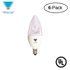 40W Equivalent E12 LED Candle Light Bulb Bulb Temperature: 3500K