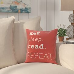 Cedarville Mantra Throw Pillow Size: 20