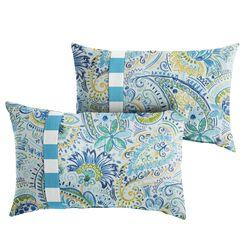 Mayda Floral Indoor/Outdoor Lumbar Pillow Size: 13