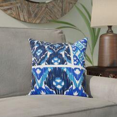 Meetinghouse Free Spirit Geometric Print Throw Pillow Size: 16