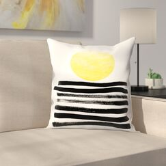 Soleil Throw Pillow Size: 20