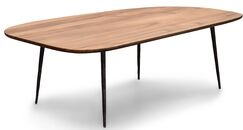 Couey Coffee Table Table Top Color: Natural Walnut