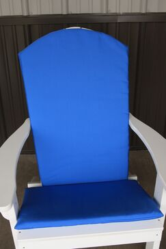 Agora Full Indoor/Outdoor Adirondack Chair Cushion Fabric: Light Blue