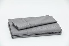 Eugene 250 Thread Count 100% Cotton Sheet Set Color: Dark Gray, Size: Double
