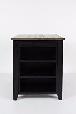 Westhoff 3 Piece Pub Table Set Color: Black