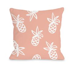 Midway Pines Outdoor Throw Pillow Size: 18