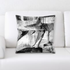 Falkner Wooden Textures Throw Pillow