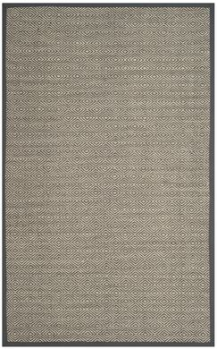 Freels Natural/Gray Area Rug Rug Size: Rectangle 5' x 8'