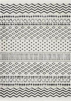 Penwell White Area Rug Rug Size: Rectangle 7'10