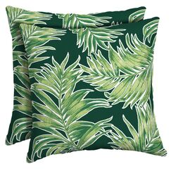 Kittleson Tropical Outdoor Throw Pillow