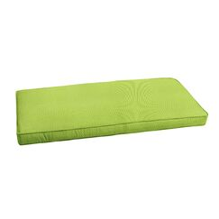 Outdoor Sunbrella Bench Cushion Size: 45