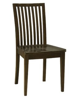 Bensley Model Solid Wood Dining Chair Color: Flax