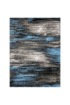 Mahlum Gray/Blue Area Rug Rug Size: Rectangle 7.9' x 10'