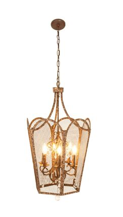 Centralia Traditional Iron 5-light Candle Chandelier