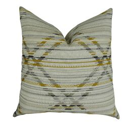 Ladner Aztec Pattern Pillow Size: 20