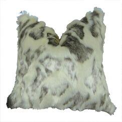 Jowers Rabbit Faux Fur Pillow Fill Material: H-allrgnc Polyfill, Size: 16