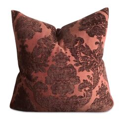 Ruble French Royal Damask Jacquard Luxury Decorative Velvet Pillow Cover