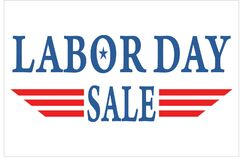 Labor Day Banner Size: 24